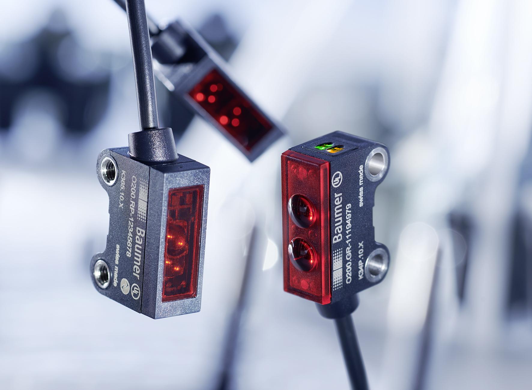 Baumer Light Barrier Photoelectric Sensor